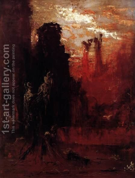 Moses by Gustave Moreau - Reproduction Oil Painting