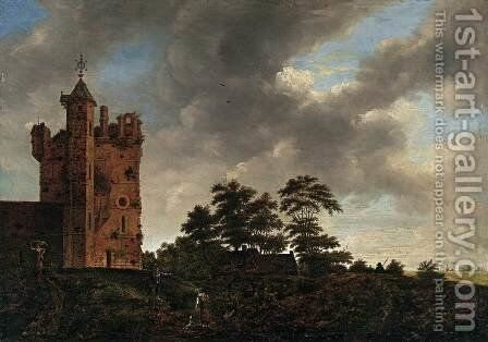 The Old Castle by Emanuel Murant - Reproduction Oil Painting