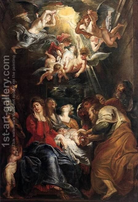The Circumcision by Rubens - Reproduction Oil Painting