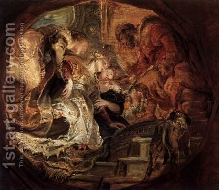 Esther before Ahasuerus by Rubens - Reproduction Oil Painting