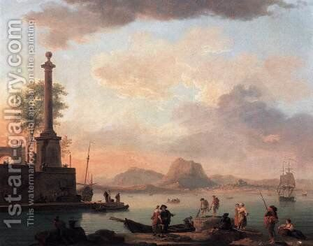 The Islands of the Archipelago by Claude-joseph Vernet - Reproduction Oil Painting