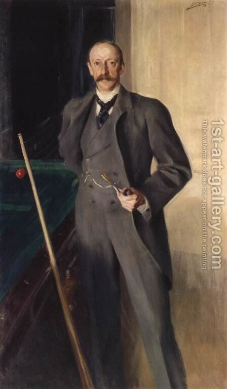 George Peabody Gardner by Anders Zorn - Reproduction Oil Painting