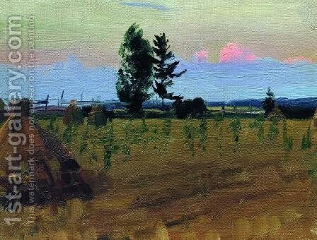 In Plyos by Isaak Ilyich Levitan - Reproduction Oil Painting