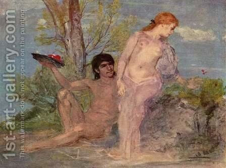 Idyll by Arnold Böcklin - Reproduction Oil Painting