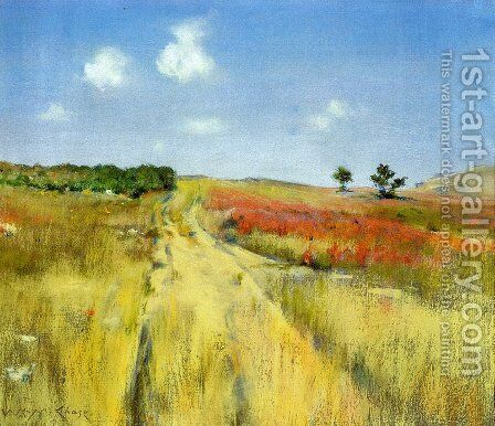 Shinnecock Hills 3 by William Merritt Chase - Reproduction Oil Painting