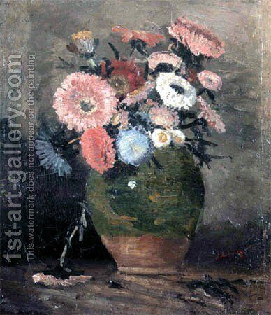 Chrysanthemum by Ion Andreescu - Reproduction Oil Painting