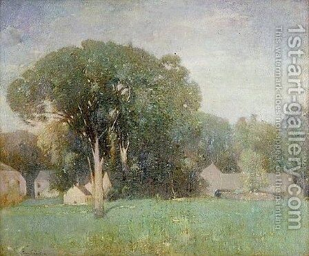 Weir's Place at Windham by Emil Carlsen - Reproduction Oil Painting