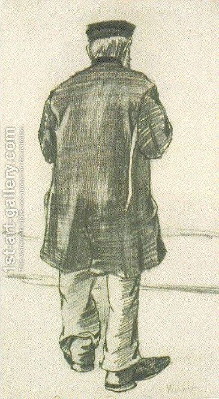 Orphan Man with Cap, Seen from the Back by Vincent Van Gogh - Reproduction Oil Painting