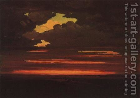 Clouds by Arkhip Ivanovich Kuindzhi - Reproduction Oil Painting