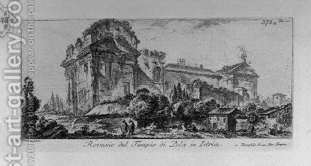 Tomb of the family of 'Scipios by Giovanni Battista Piranesi - Reproduction Oil Painting