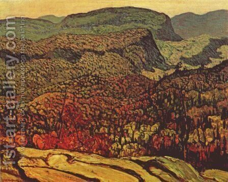 Forest Wilderness by James Edward Hervey MacDonald - Reproduction Oil Painting