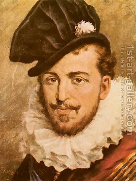 Henry Valois by Jan Matejko - Reproduction Oil Painting