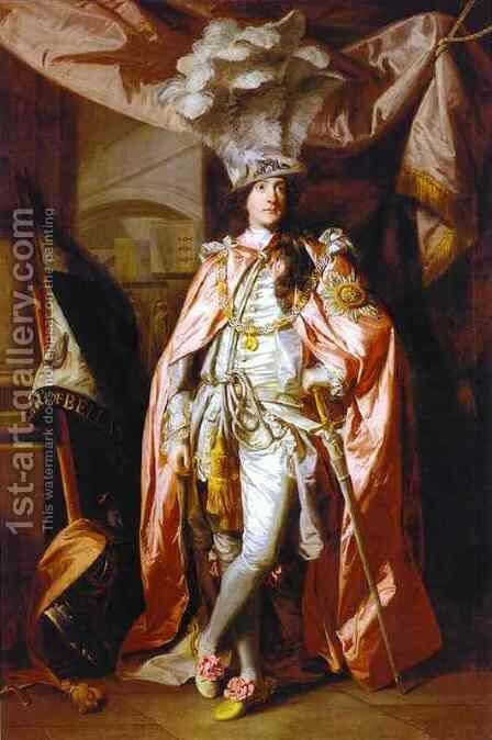 Charles Coote, 1st Earl of Bellamont by Sir Joshua Reynolds - Reproduction Oil Painting