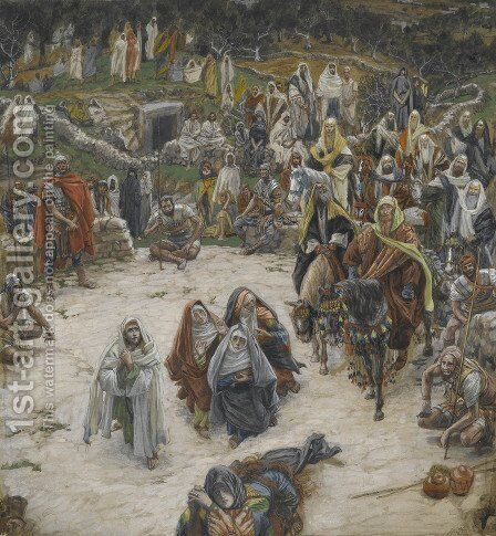 Crucifixion, seen from the Cross by James Jacques Joseph Tissot - Reproduction Oil Painting