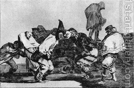 Absurdity of Carnival by Goya - Reproduction Oil Painting