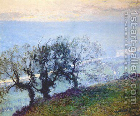 November Twilight by Guy Rose - Reproduction Oil Painting