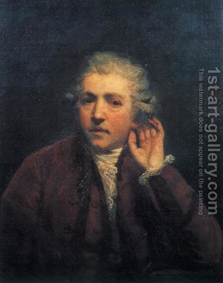 Self-Portrait 4 by Sir Joshua Reynolds - Reproduction Oil Painting