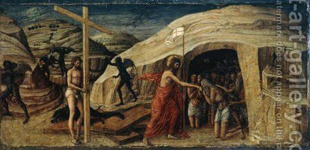 Christ's Descent into Limbo by Giovanni Bellini - Reproduction Oil Painting