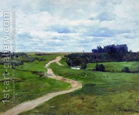 Road by Isaak Ilyich Levitan - Reproduction Oil Painting
