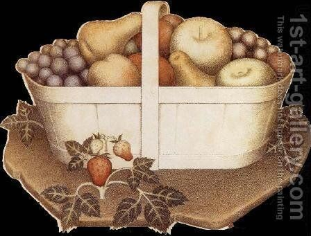 Fruit by Grant Wood - Reproduction Oil Painting