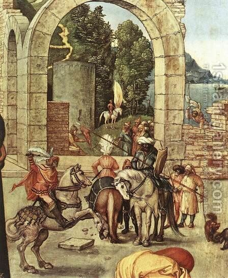Adoration(fragment) by Albrecht Durer - Reproduction Oil Painting