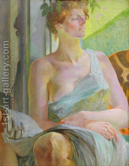 Bacchante (Portrait of Maria Bal) by Jacek Malczewski - Reproduction Oil Painting