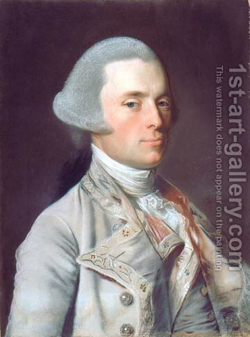 Governor John Wentworth by John Singleton Copley - Reproduction Oil Painting