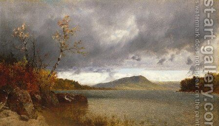 Lake George 3 by John Frederick Kensett - Reproduction Oil Painting