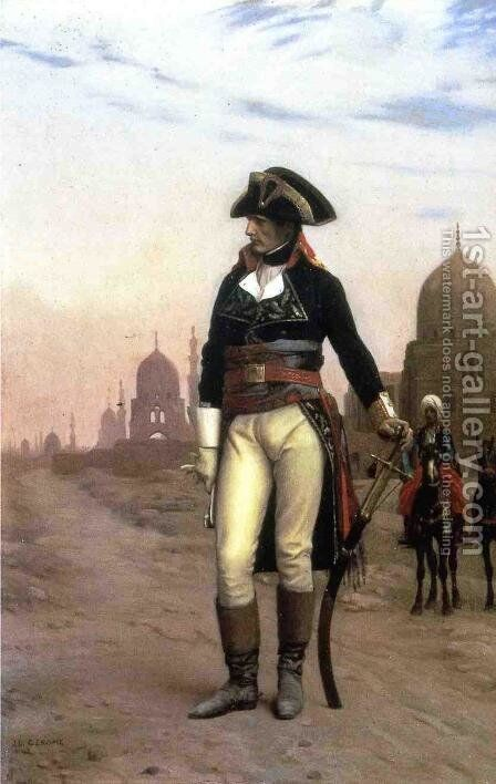 Napoleon in Egypt by Jean-Léon Gérôme - Reproduction Oil Painting