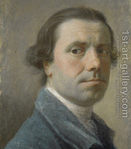 Self-Portrait by Allan Ramsay - Reproduction Oil Painting