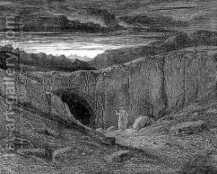 The Gate of Hell by Gustave Dore - Reproduction Oil Painting