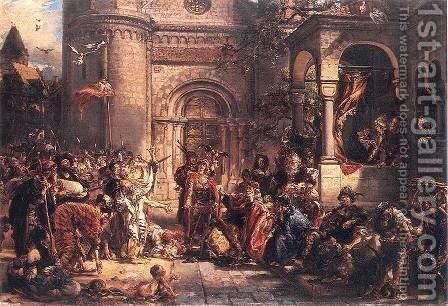 Immigration of the Jews by Jan Matejko - Reproduction Oil Painting