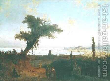 The Old Feodosia 2 by Ivan Konstantinovich Aivazovsky - Reproduction Oil Painting