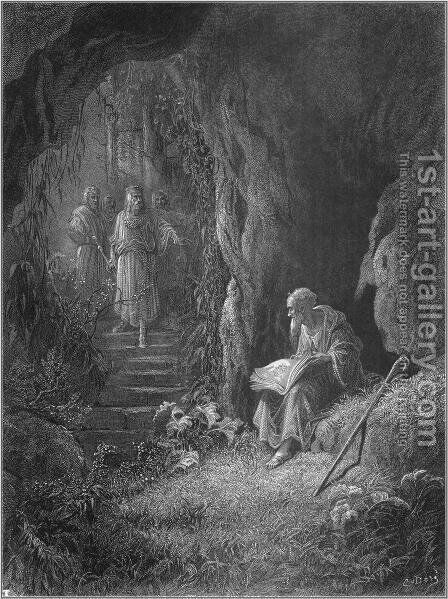 Idylls of the King by Gustave Dore - Reproduction Oil Painting