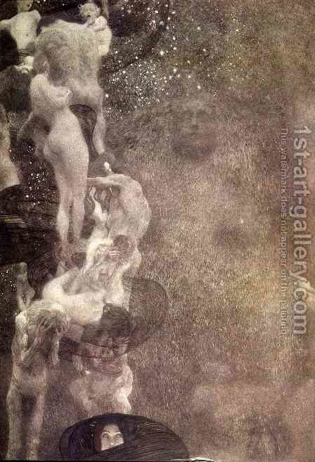Philosophy (final state) by Gustav Klimt - Reproduction Oil Painting