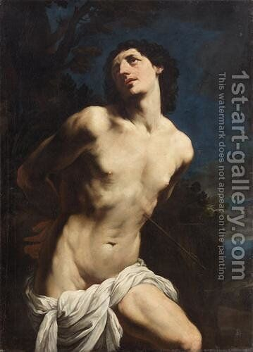 St. Sebastian 3 by Guido Reni - Reproduction Oil Painting