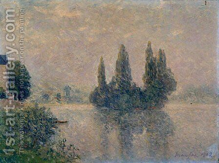 Fog on the Seine (The Andelys) by Maxime Maufra - Reproduction Oil Painting