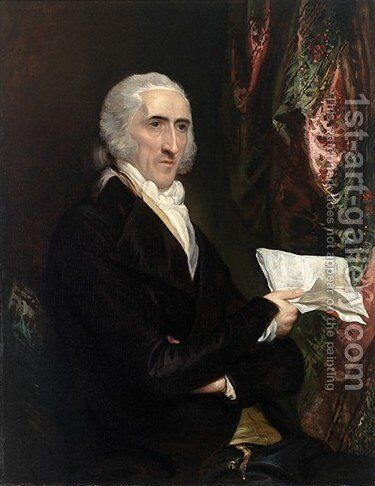 Dr. Enoch Edwards by Benjamin West - Reproduction Oil Painting