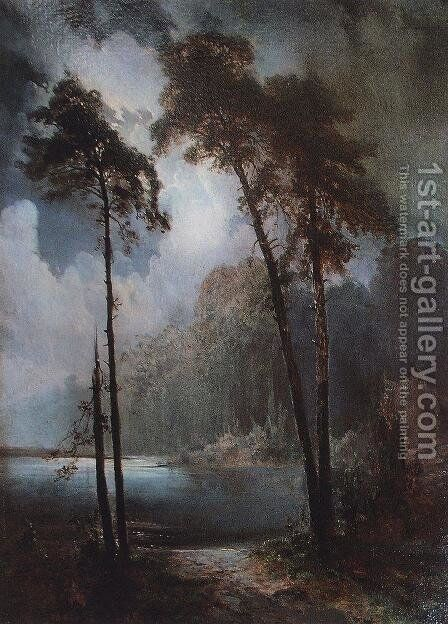 Lell by Alexei Kondratyevich Savrasov - Reproduction Oil Painting