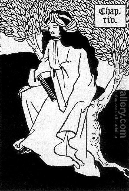 Unknown 8 by Aubrey Vincent Beardsley - Reproduction Oil Painting