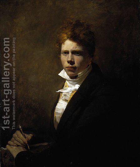 Self Portrait aged about 20 by Sir David Wilkie - Reproduction Oil Painting