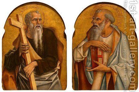 Two Apostles by Carlo Crivelli - Reproduction Oil Painting