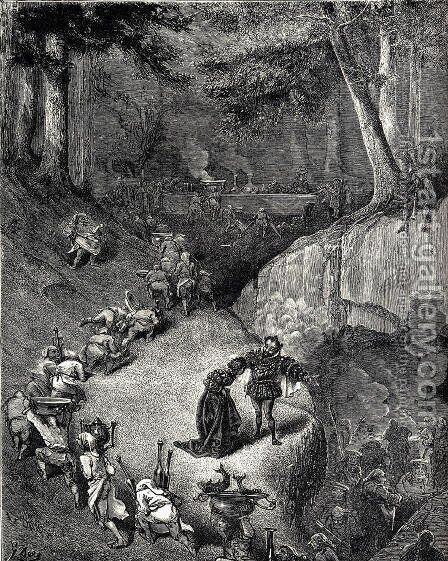 Donkeyskin by Gustave Dore - Reproduction Oil Painting