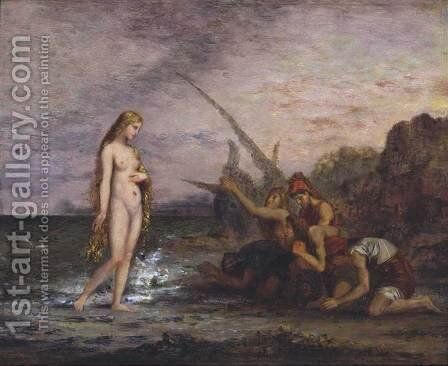 The Birth of Venus by Gustave Moreau - Reproduction Oil Painting