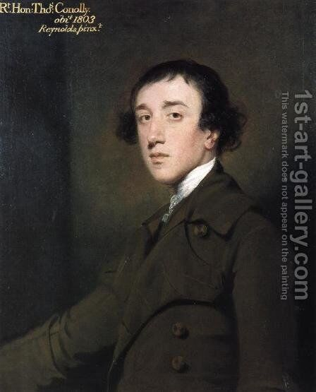 Thomas Conolly by Sir Joshua Reynolds - Reproduction Oil Painting