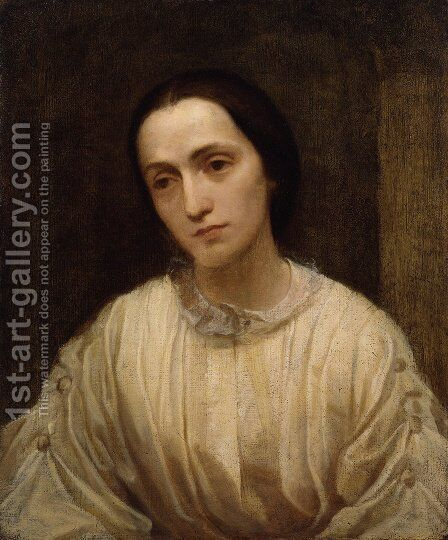 Julia Margaret Cameron by George Frederick Watts - Reproduction Oil Painting