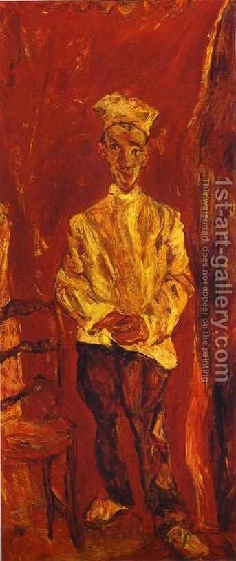 Little Pastry Cook by Chaim Soutine - Reproduction Oil Painting