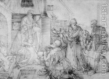 Adoration of the Magi 4 by Albrecht Durer - Reproduction Oil Painting