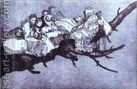 Ridiculous dream by Goya - Reproduction Oil Painting
