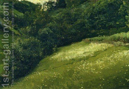 Field in Asturias by Joaquin Sorolla y Bastida - Reproduction Oil Painting
